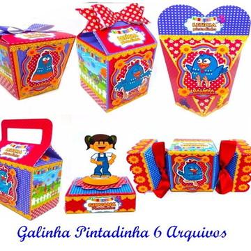 ARQUIVO SILHOUETTE GALINHA PINTADINHA