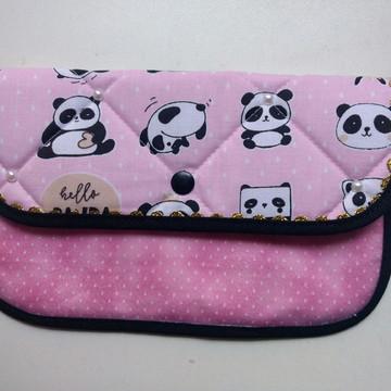 Porta escova de dente Hello Panda