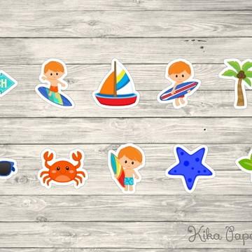 Aplique Surfista Mod1 3,5 cm