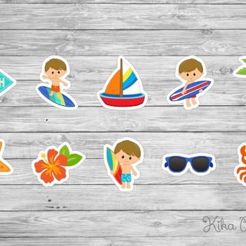 Aplique Surfista Mod5 3,5 cm