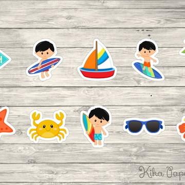Aplique Surfista Mod6 3,5 cm