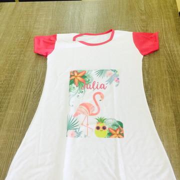 Camisola personalizada flamingos