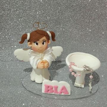 Topo para batizado menina