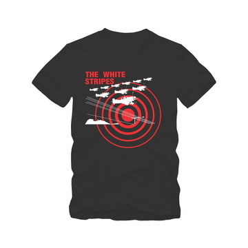 The White Stripes Airplane Camiseta Tradicional