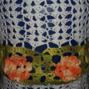 Capa para galao de agua em croche