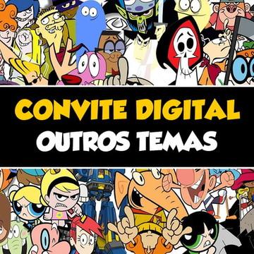 Convite Digital Outros Temas