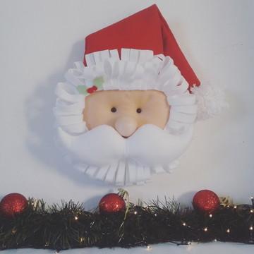 Papai Noel de Feltro para Pendurar - Decoração de Natal