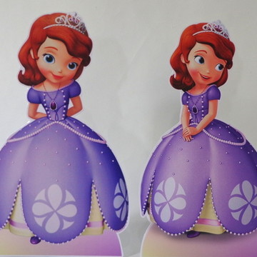 Display de Mesa Festa Infantil Princesa Sofia