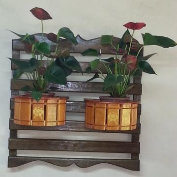 suporte vertical para plantas