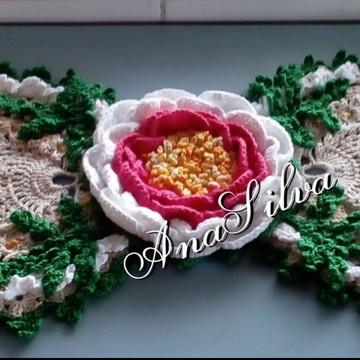 Trilho de mesa Flor de Maracujá