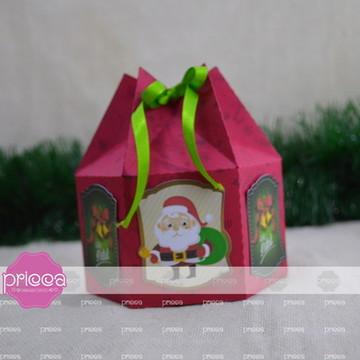 #0154: Arquivo de corte caixa para Panetone Mini -100 gramas
