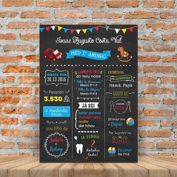 Chalkboard Digital Primeiro Aninho Brinquedos