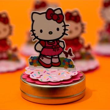 Aplique Bonequinha Hello Kitty