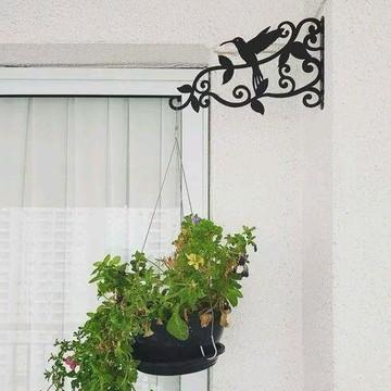 4 Suportes de parede p/ vasos e plantas