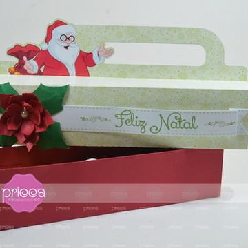 #0327 : Arquivo de corte Natal - Caixa deslizar 05 doces