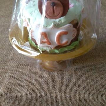 Mini bolo decorado no tema da festa