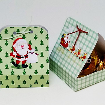Embalagem para Bombons e Trufas Natal
