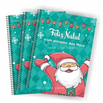Cadernos Personalizado - Feliz Natal