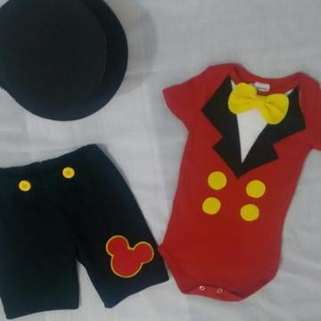 Conjunto Mickey 03 Peças Circo