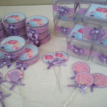 kit Festa personalizado Barbie