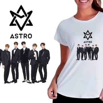 0d0dfd3ef0 Camiseta Baby Look Feminina Kpop Astro K-pop