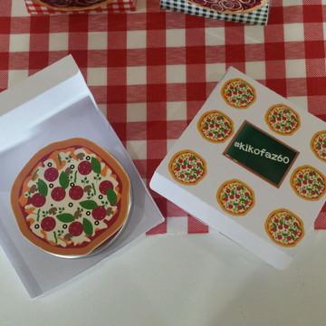 Caixinha Pizza com latinha pizza
