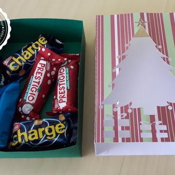 Caixa Árvore de Natal e Presentes