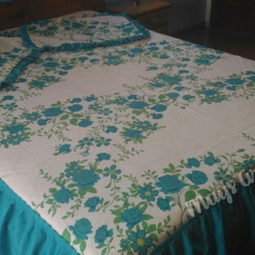 ce18b182e0 Jogo de Cama Casal Floral Luxo
