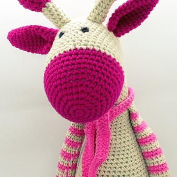 Amigurumi Girafa - Crochê