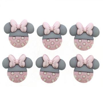 Botões Baby Minnie