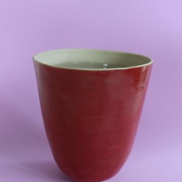 cachepô de cerâmica