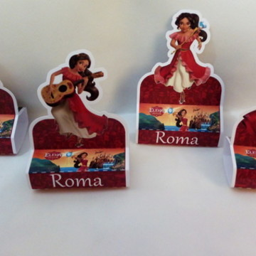 PORTA chocolate Duplo PRINCESA ELENA DE AVALOR