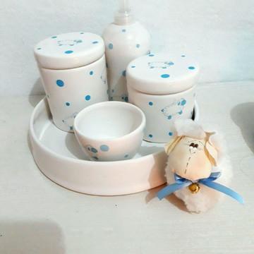 Kit porcelana ovelhinha