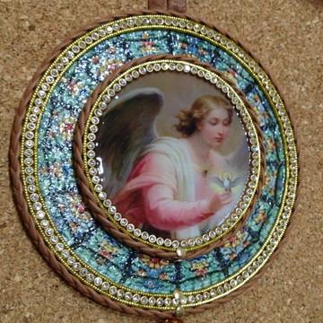 Medalhão Anjo Angelical