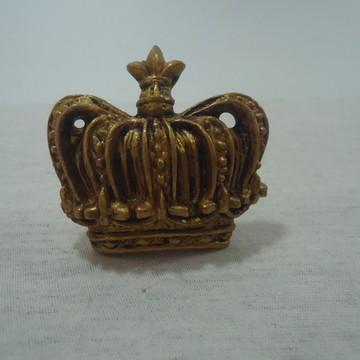 Puxador Coroa Ouro Velho