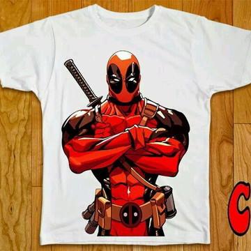 Camiseta HQ Deadpool - 01