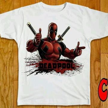 Camiseta HQ Deadpool - 04