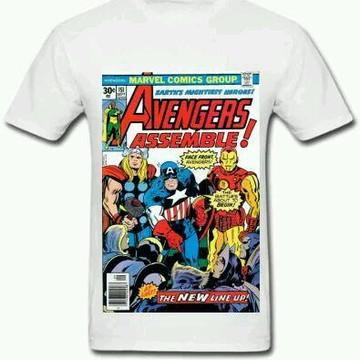 Camiseta HQ Vingadores - 01