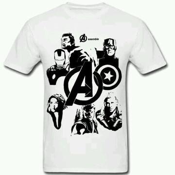 Camiseta HQ Vingadores - 02