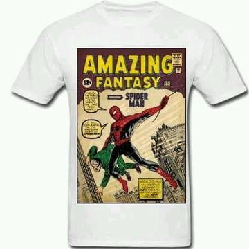 Camiseta HQ Homem-Aranha - 01