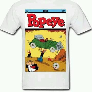 Camiseta HQ Popey - 01