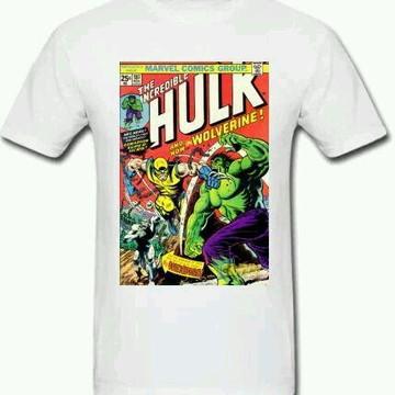 Camiseta HQ Hulk - 01