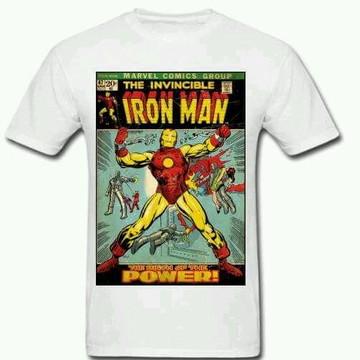 Camiseta HQ Homem de Ferro - 01