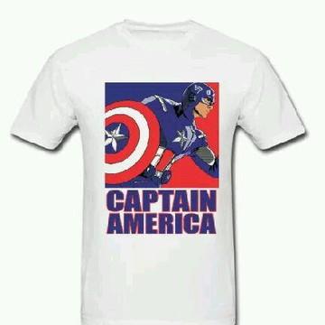 Camiseta HQ Capitão América - 01