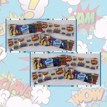 Balinhas Personalizadas Super Heróis