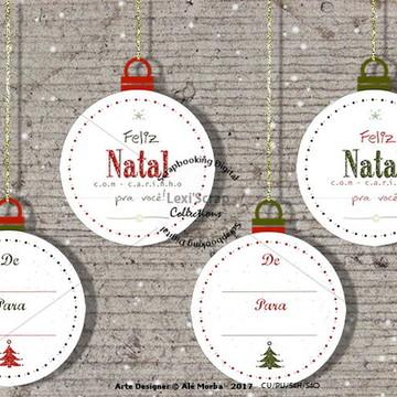 Tag ( etiqueta ) natalina