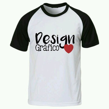Camiseta Design grafico raglan