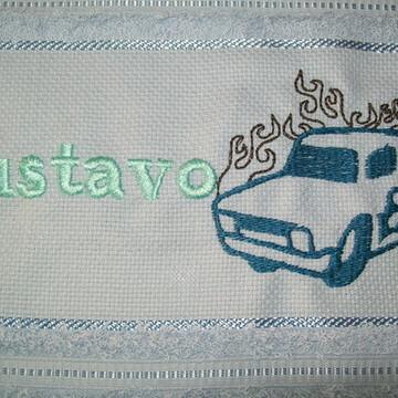 Toalha de Lavabo - Carro contorno