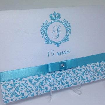 Convite para 15 anos Debutante Tiffany