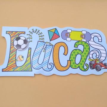 Placa LUCAS